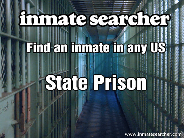State prison inmates search